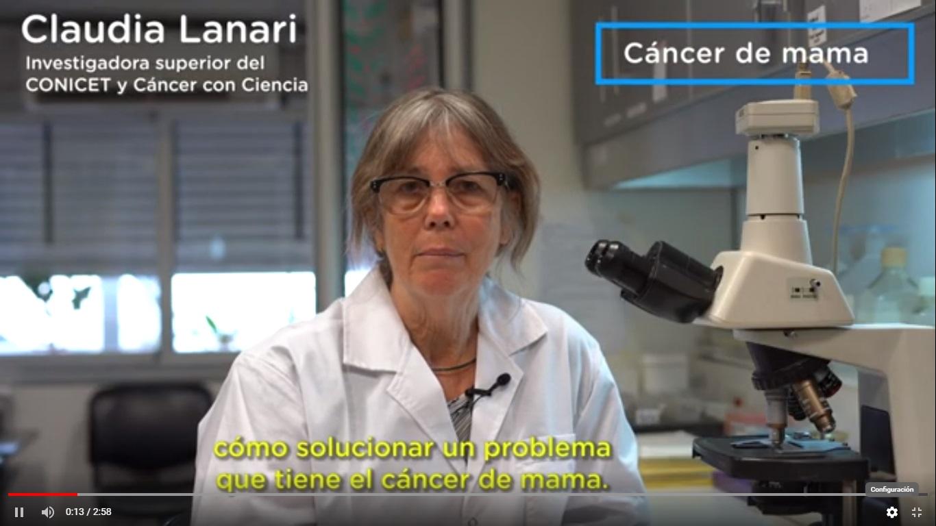 Investigaciones de la Dra. Claudia Lanari y su equipo
